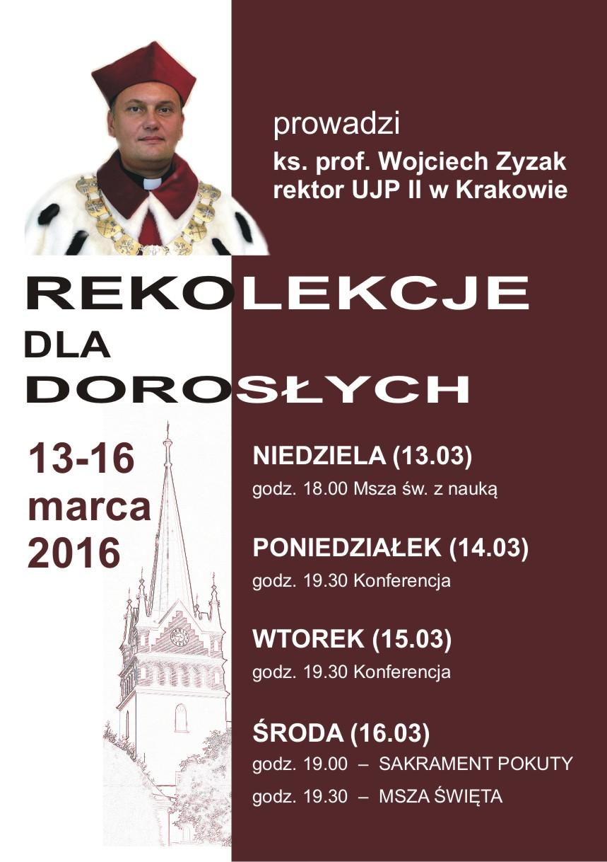 Rekolekcje_xZyzak_Plakat