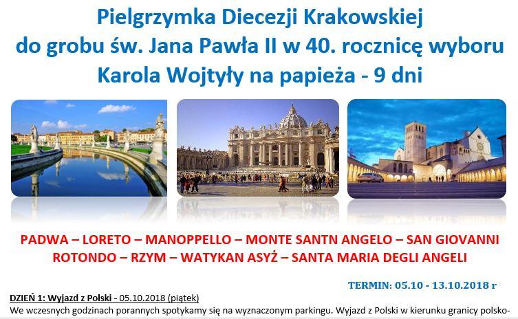 PielgrzymkaParafialnaRzym_wstęp