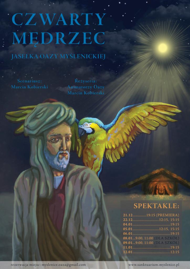 Jasełka_Myślinice_plakat